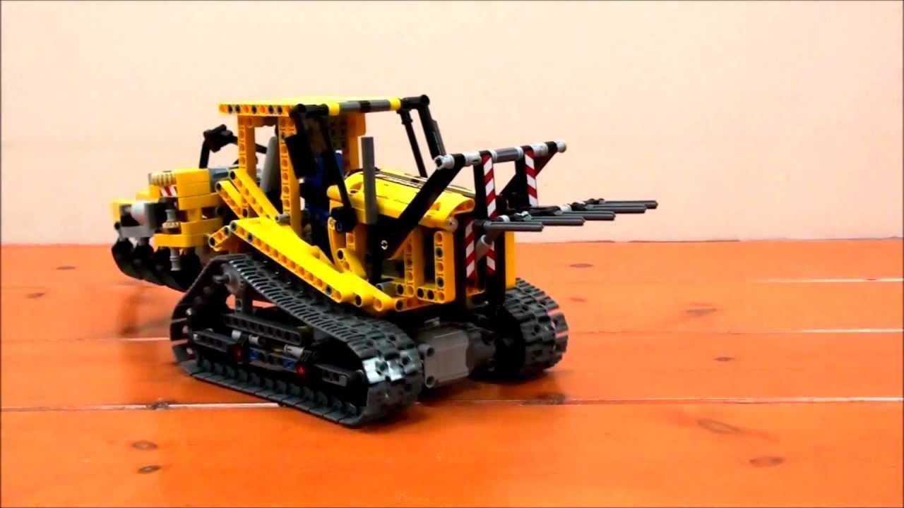 Lego Technic 42006 Model B Fully Motorized Youtube