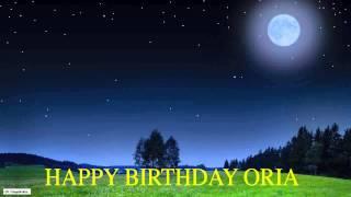 Oria  Moon La Luna - Happy Birthday