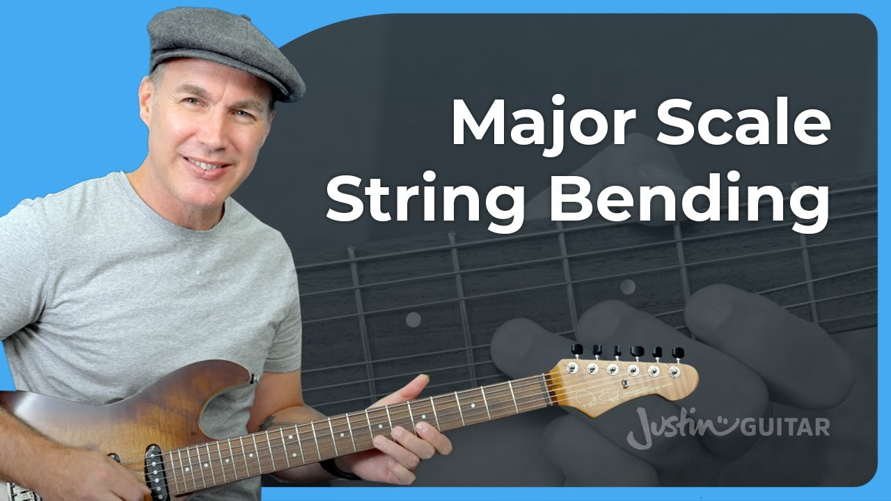 Download Major Scale String Bending. Don't get this wrong!