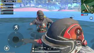 Rarest circle in PUBG mobile in Sanhok ends in Water | Fun reloaded video
