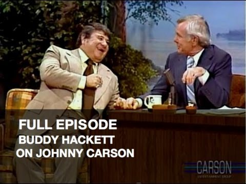 JOHNNY CARSON FULL EPISODE: Buddy Hackett, Funny Kids