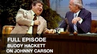 JOHNNY CARSON FULL EPISODE: Buddy Hackett, Funny Kids