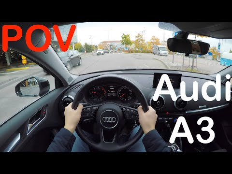 POV Audi A3 Sedan TFSI Autumn Day Drive + Quick Review - PointOfViewCars