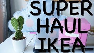 SUPER HAUL IKEA + útiles decoración hogar