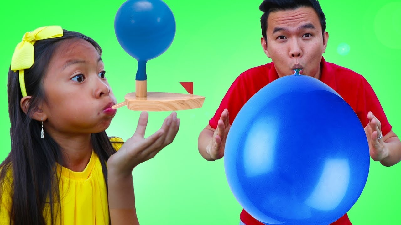 Image result for kids balloon boat toy