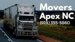 Movers Apex NC