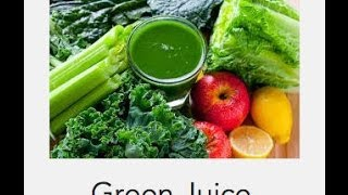 Daily Green Juice to Lower Cholesterol
