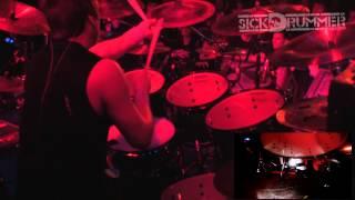 Trey Williams - Dying Fetus - ( Homicidal Retribution ) drum cam