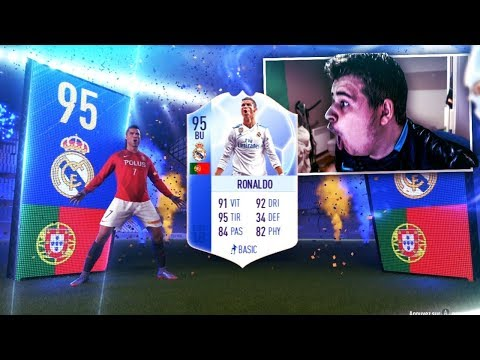 JE PACK RONALDO 95 TOTGS BU FIFA 18 !