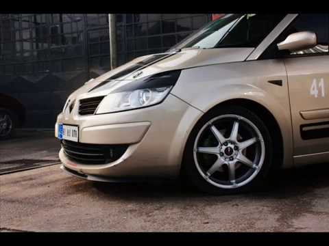 tuning renault scenic ii funnydog tv. Black Bedroom Furniture Sets. Home Design Ideas