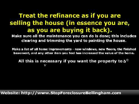 Do Not Waste Money On A Bellingham, WA Home Appraisal Without Enough Equity To Justify It.