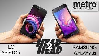LG ARISTO 3  VS Samsung Galaxy J2 ( metro by T mobile )
