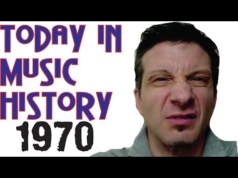 Today in Music History - 1970