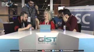 (PART 1) GIST 2016 - 4.GÜN - İlker Karaş, Beril Sergün ve Mete Özbey ile Sohbet (VideOyun içerir.)