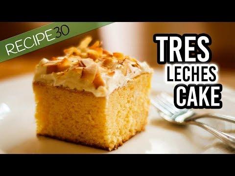 Tres Leches Cake Simple Recipe