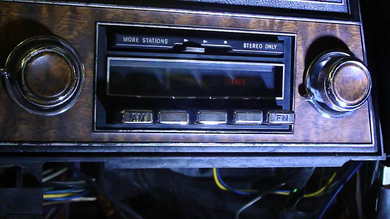 1970 Cadillac Eldorado Delco AM/FM Sterio Radio w ...