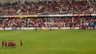 Pontevedra 1-0 Mensajero. Penaltys: 3-4. Ascenso del Mensajero.