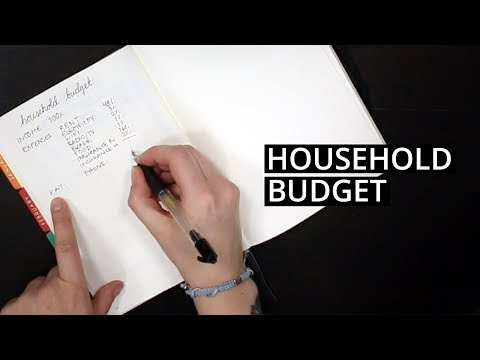 How to Create a Household Budget 💰