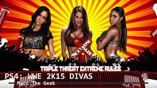 PS4: WWE 2K15 Divas Triple Threat Match