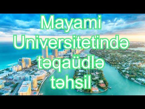 ABŞ-da pulsuz təhsil part 4 , Miami University Scholarship