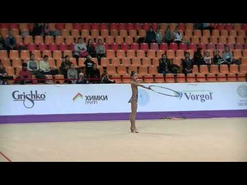 Seo Goeun (KOR) hoop Grand Prix Moscow-Alina Cup 2016 qual. jun.