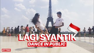 siti badriah lagi syantik dance in public by oc��ane david choreo by natya shina