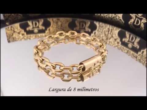 e554be0c0ba Don Joalheria - Pulseira em Ouro 18k 750 Cartier 15 Gramas - YouTube