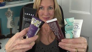 Testing Makeup Primers ~ For Mature Skin