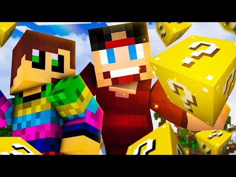 ULTRA HARDCORE LUCKY ISLAND! - Minecraft