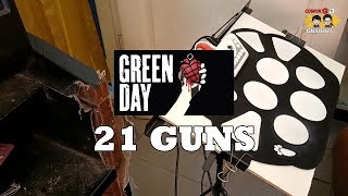 Roll Drum Cover - 21 Guns ( Green Day ) With Lyric