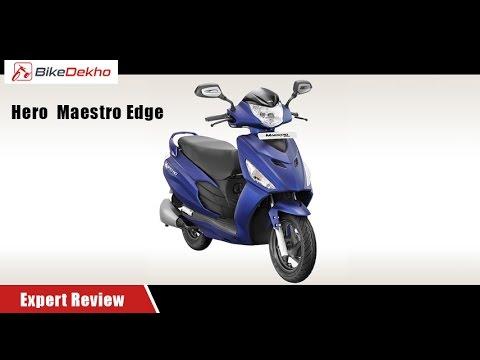 Hero Maestro Edge | Expert Review | BikeDekho.com