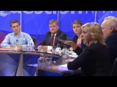 GAZA DEBATE-QUESTION TIME OWEN JONES AT HIS BEST