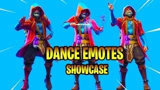 *NEW* CASTOR Skin Showcase With Dance Emotes! Fortnite Battle Royale