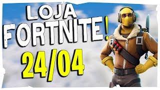 Loja Fortnite - Loja De Hoje 24/04/2019 Itens Voltando