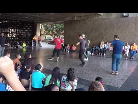 Caracas, Venezuela: Dancing at the Bank