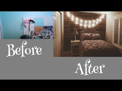 Rustic Room Makeover  Before and After