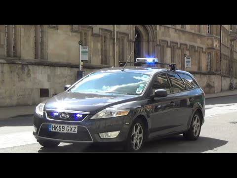 Unmarked Emergency Vehicle Response in Oxford