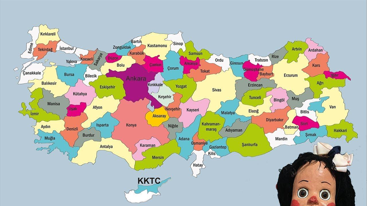 Harita Nedir Fiziki Harita Nedir Türkiye Haritasi Youtube