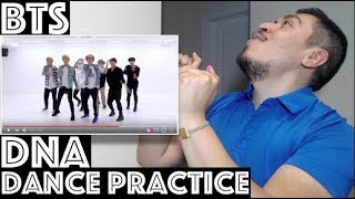 BTS DNA Dance Practice [CHOREOGRAPHY] Reaction