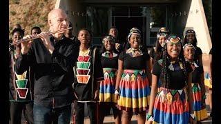 Ed Sheeran's Shape of You by SA's Ndlovu Youth Choir & Wouter Kellerman (flute) (04.02)