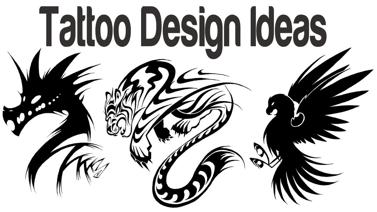 tattoo design ideas tattoo designs for men tribal tattoo art designs for women video youtube - Art Design Ideas