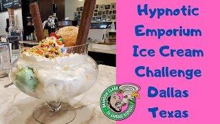 Mount Hypnotic 20 Scoop Ice Cream Challenge | Hypnotic Emporium Ice Cream