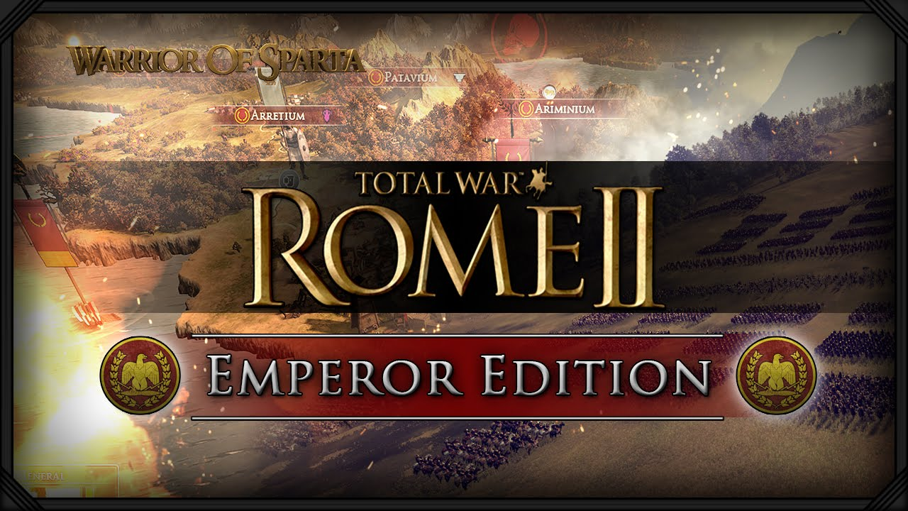 โหลดเกม total war Rome 2 emperor edition
