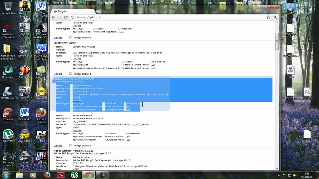 How To Fix Adobe Flash Plugin Crash In Google Chrome Updated (hd)