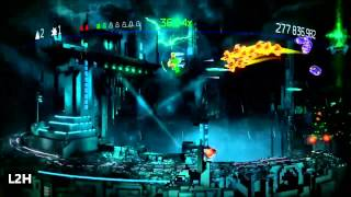 RESOGUN Master + Hero Mode Victory 199M Master 621M Hero BEAT I Love Housemarque.