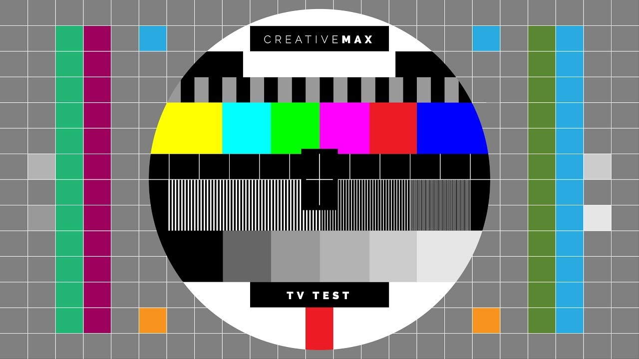 TV LED Test Color 4K UHD - CreativeMax for Samsung, LG, SONY, Panasonic and  more