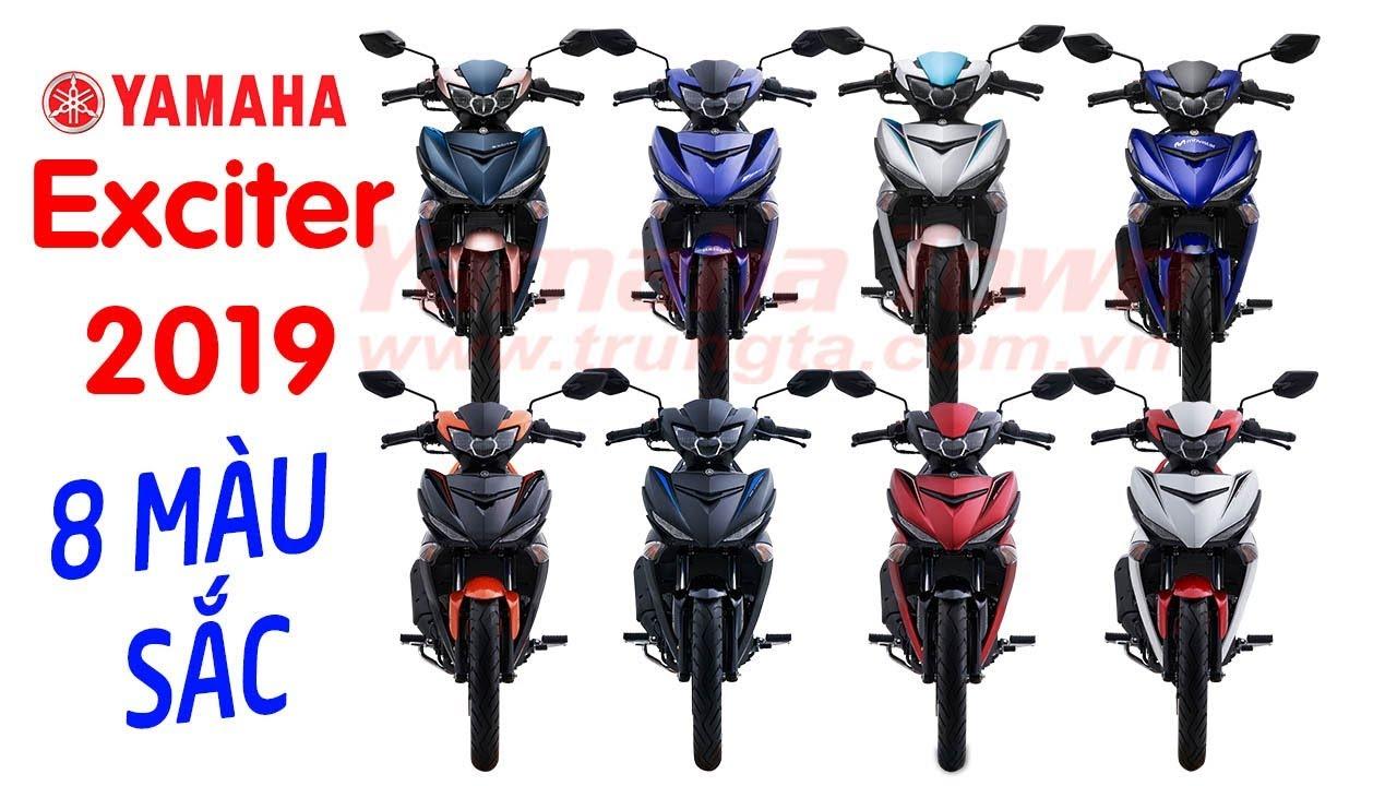 Yamaha Exciter 150 2019 ▶ TỔNG HỢP 8 MÀU SẮC ÔNG VUA XE CÔN TAY