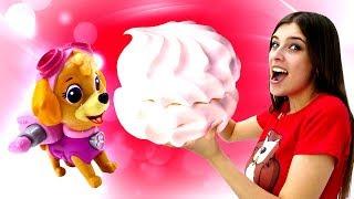 Игрушки Щенячий патруль— ВШоу ToyClub ВЫХОДНОЙ— Щенки играют впрятки— Скай потерялась!