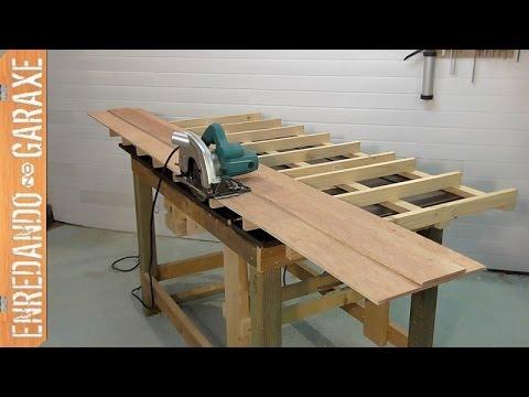 C mo hacer una gu a para cortar tableros con la sierra - Guia para construir ...