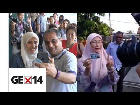 Nurul Izzah hopeful of GE14 outcome